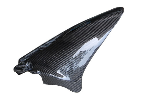 Rear Hugger (Style 3) in Glossy Twill Weave Carbon Fiber for Honda CBR1000RR 08-11