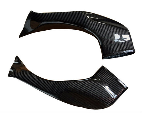 Air Ducts (Racing) in Glossy Twill Weave Carbon Fiber for Honda CBR1000RR 08-11