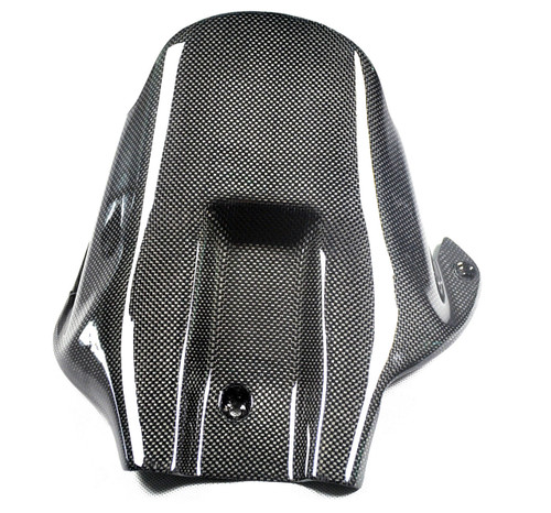 Rear Hugger in Glossy Plain Weave Carbon Fiber for Honda CBR1000RR 04-07