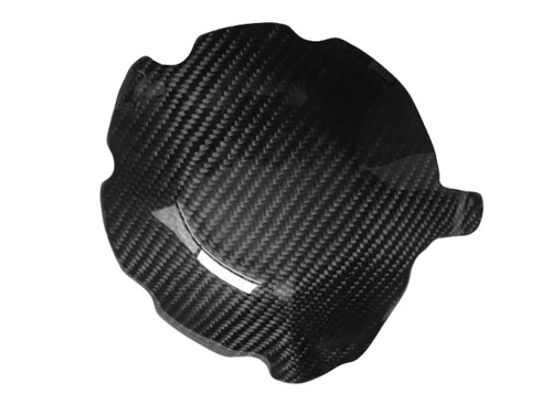 Alternator Cover Guard in Glossy Twill Weave Carbon Fiber for Honda CBR1000RR 04-07