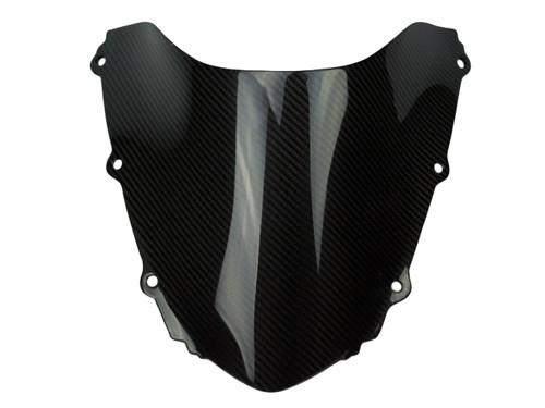 Windscreen in Glossy Twill Weave Carbon Fiber for Honda CBR1000RR 06-07