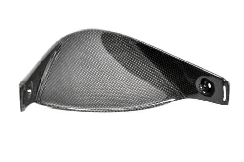 V Piece in Glossy Plain Weave Carbon Fiber for Honda CBR1000RR 06-07