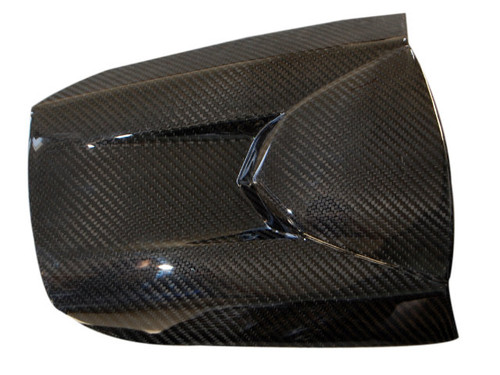 Seat Cover in Glossy Twill Weave Carbon Fiber for Honda CBR600RR 2013+