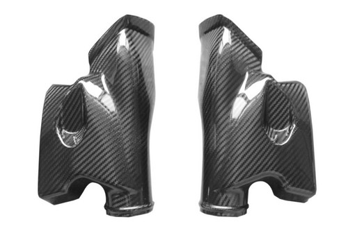 Ram Air Ducts in Glossy Twill Weave Carbon Fiber for Honda CBR600RR 03-04