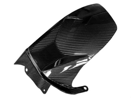 Rear Hugger in Glossy Twill Weave Carbon Fiber for Honda VFR1200F