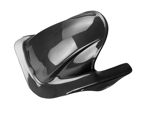 Rear Hugger in Glossy Plain Weave Carbon Fiber for Honda VTR1000-SP1