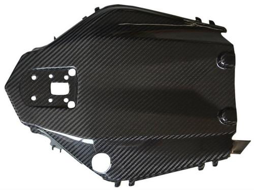 Undertray in Glossy Twill Weave Carbon Fiber for Kawasaki Z1000/ Ninja 1000 2014+