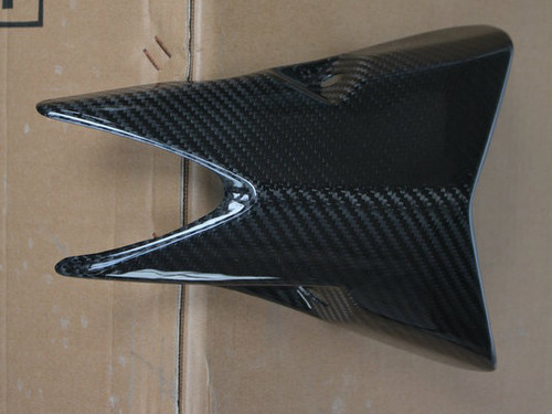 One piece of Exhaust Covers in Glossy Twill Weave Carbon Fiber for Kawasaki Z1000/ Ninja 1000 2014+