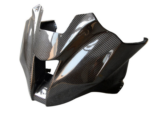 Top Fairing ( Racing) in Glossy Twill Weave Carbon Fiber for Kawasaki ZX10R 2011-2015