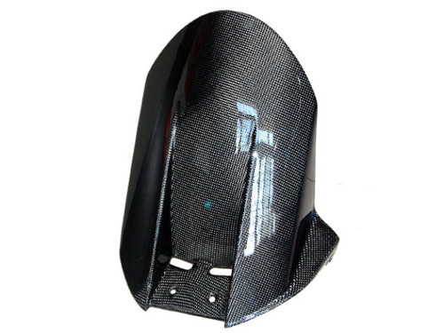 Rear Hugger in Glossy Plain Weave Carbon Fiber for Kawasaki ZX10R 2004-2005