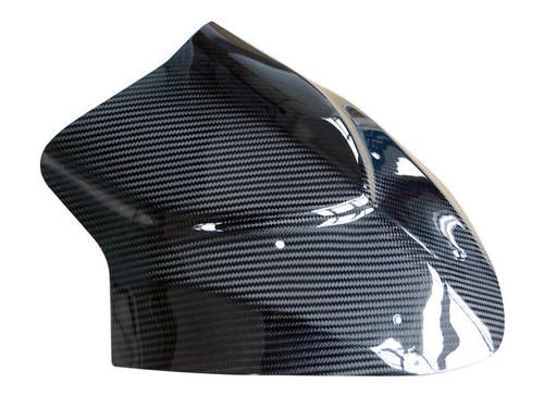 Windscreen in Glossy Twill Weave Carbon Fiber for Kawasaki Z1000 SX 2010-2013