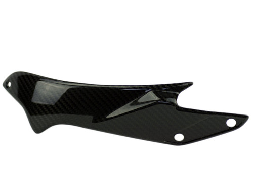 Swingarm Cover in Glossy Twill Weave Carbon Fiber for MV Agusta, F3 & Brutale 675/800, Dragster & Rivale 800