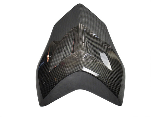 Seat Cover in Glossy Plain Weave Carbon Fiber for MV Agusta Brutale 920, 990R, 1090RR