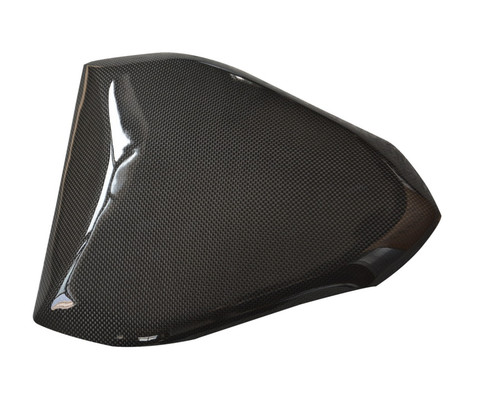 Seat Cover in Glossy Plain Weave Carbon Fiber for MV Agusta Brutale 750, 910