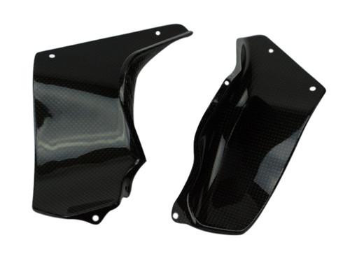 Side Covers (2) in Glossy Plain weave Carbon Fiber for MV Agusta Brutale 2004-2009