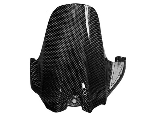 Rear Hugger in Glossy Plain Weave Carbon Fiber for Suzuki GSXR 600, GSXR 750 2006-2010