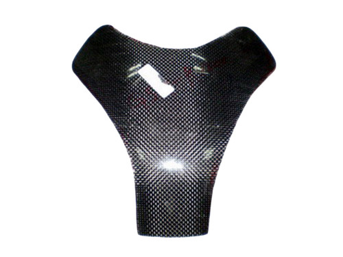 Tank Pad in glossy twill weave in carbon fiber for Suzuki GSXR 1000 2005-2008