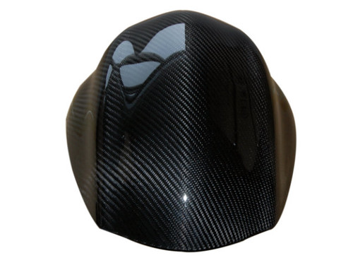 Seat Cover in Glossy Twill Weave Carbon Fiber for Suzuki GSX1300 R Hayabusa 2008-2017