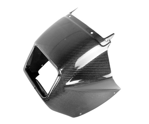 Front Fairing in Glossy Twill Weave Carbon Fiber for Yamaha TDR 250