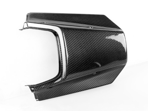 Tail Cover in Glossy Twill Weave Carbon Fiber for Yamaha TDR 250