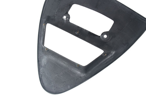 Triangle Fairing (Backside) in Glossy Twill Weave Carbon Fiber for Ducati 748, 916, 996