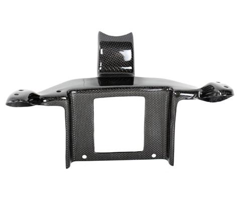 Front Fairing Holder in Glossy Plain Weave Carbon Fiber for Ducati 748, 916, 996, 998, 999