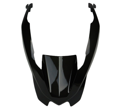 Front Nose in Glossy Plain Weave Carbon Fiber for BMW R1200GS 2013-2016