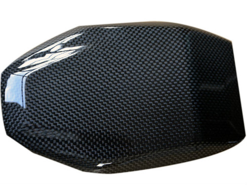 Tank Pad in Glossy Plain Weave Carbon Fiber for BMW R1200GS 2013+