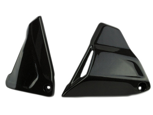 Battery Side Covers in Carbon with Fiberglass for BMW R1200GS 2013-2019, R1200R, RS 2015+