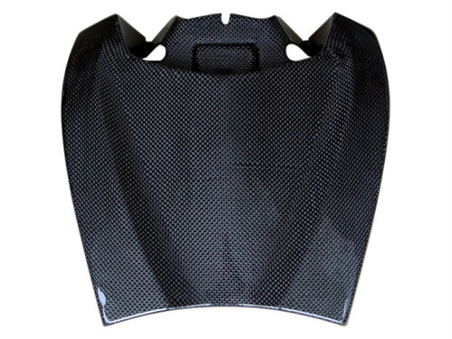 Rear Seat Cowl in Glossy Plain Weave Carbon Fiber for BMW R1200S