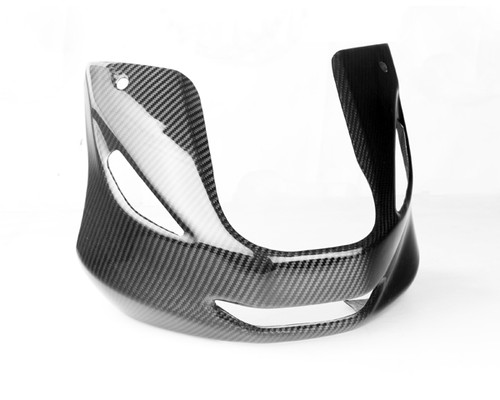 Front Fairing in Glossy Twill Weave Carbon Fiber for Yamaha TDM 900 2001-2010