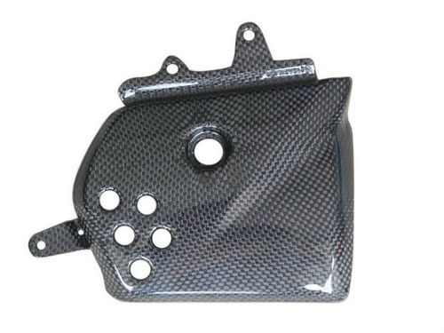 Right Side Inner Fairing in Glossy Plain Weave Carbon Fiber for Yamaha XJ6 2009-2012