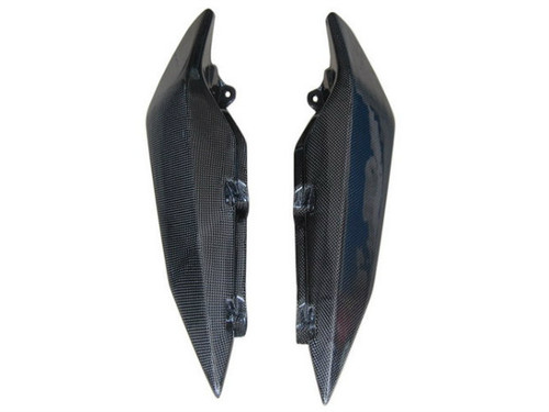 Tail Fairings in Glossy Plain Weave Carbon Fiber for Yamaha XJ6 2009-2013