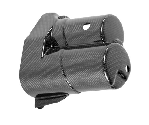 Starter Cover in Glossy Plain Weave Carbon Fiber for BMW R1100S