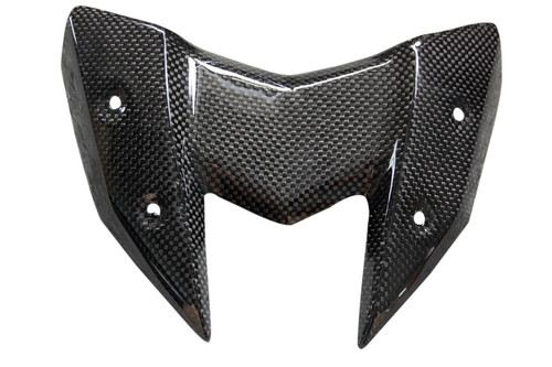 Windscreen in Glossy Plain Weave Carbon Fiber for Kawasaki Z800