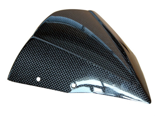 Windscreen in Glossy Plain Weave Carbon Fiber for Kawasaki Z750R 07-12