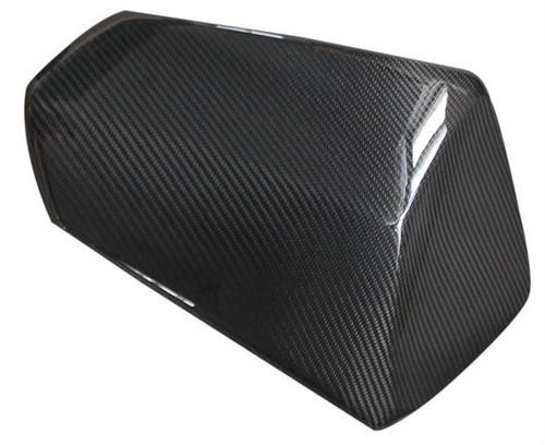 Seat Cover in Glossy Twill Weave Carbon Fiber for Kawasaki Z750R 07-12