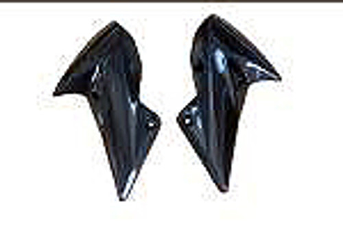 Side Panels (B) in Carbon with Fiberglass for Kawasaki Z750R 07-12