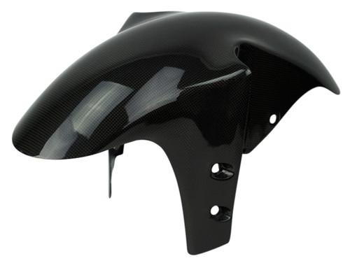 Front Fender in Glossy Plain weave Carbon Fiber for Yamaha R1 98-01