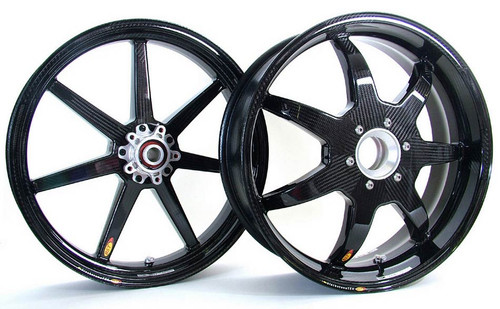 BST Ducati Panigale 1199, 1299  Black Mamba Wheel Set