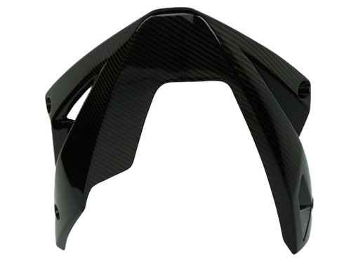 Belly Pan in Glossy Twill weave carbon fiber for Kawasaki ER-6N 2012-2016