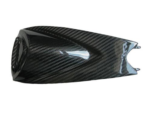 Glossy Twill Weave Carbon Fiber Seat Cowl for Aprilia RSV4 2009+