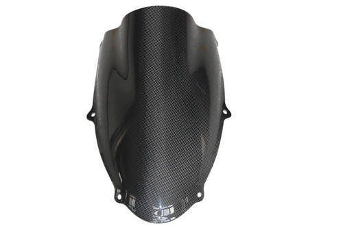 Windscreen in Glossy Plain Weave Carbon with Fiberglass for Suzuki TL1000R