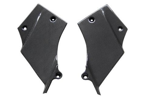 Inner Panels in Glossy Plain Weave Carbon Fiber for Suzuki TL1000R