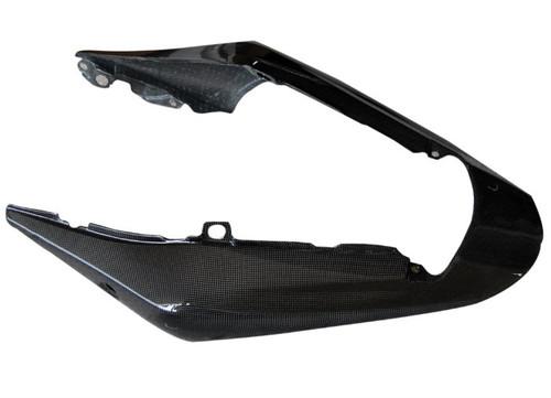 Tail Fairing in Glossy Plain Weave Carbon Fiber for Suzuki GSR600