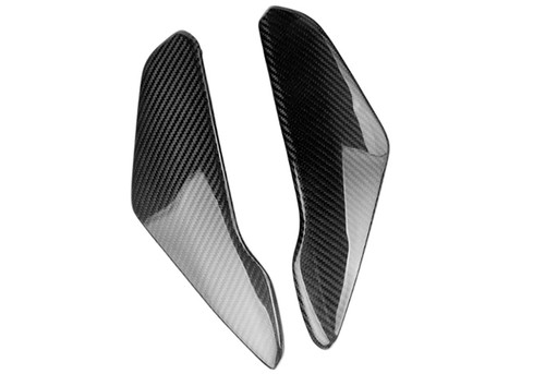 Small Panels (B) in  Glossy Twill Weave Carbon Fiber for Suzuki GSXR 600, GSXR 750 2004-2005