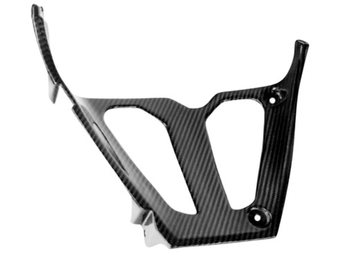 Triangle Fairing in Glossy Twill Weave  Carbon Fiber for Suzuki GSXR 600, GSXR 750 2004-2005