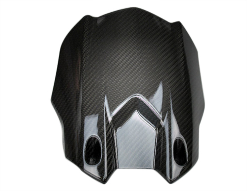 Rear Hugger in Glossy Twill Weave Carbon Fiber for Yamaha R1 2015+, FZ-10/MT-10 2017+