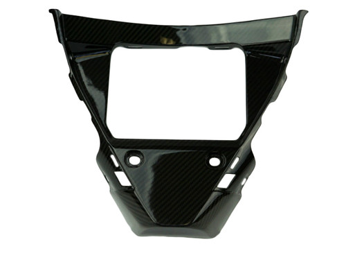 Belly Pan Front Inside in Glossy Twill Weave Carbon Fiber for Yamaha R1 2015+