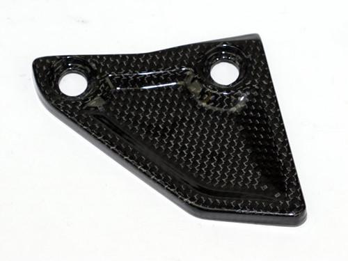 Chain Guard (B) in Glossy Plain Weave Carbon Fiber for KTM 1290 Super Adventure, 1190 Adventure.